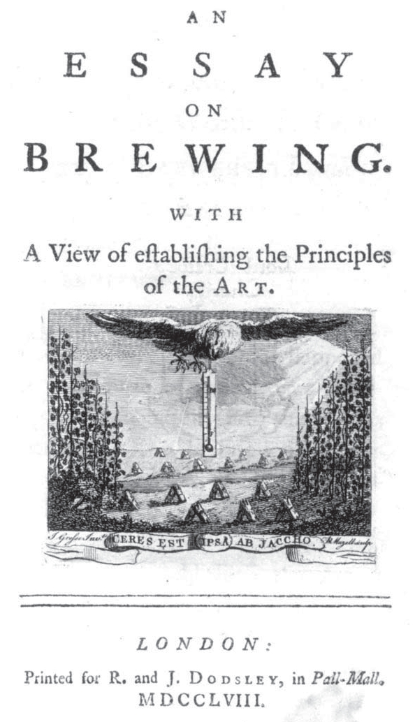 Combrune. Essay on brewing. London 1758
